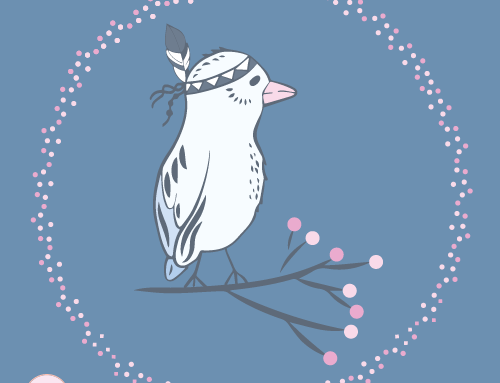 WinterBIRD Stoffdesign